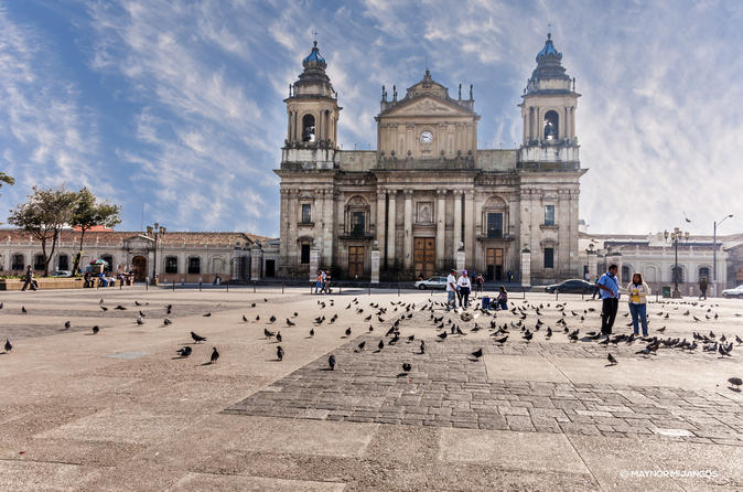 GUATEMALA CITY EXPLORER AND PASEO CAYALA