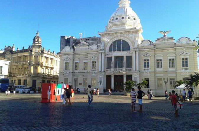 City tour de excursão histórica de dia inteiro pela cidade de Salvador com almoço