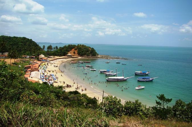 Excursão por ilha tropical incluindo a ilha de Itaparica
