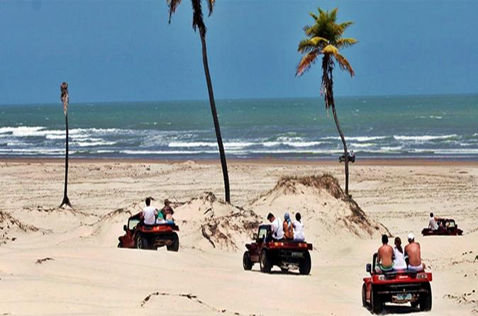 White Sand Dunes Of Mangue Seco Full Day Tour From Salvador