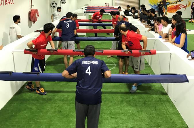 60 Mins Human Foosball - Dubai