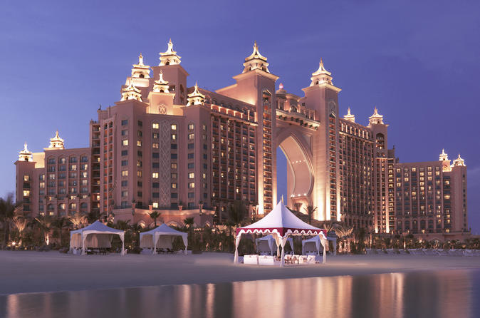 Dinning Under The Stars At Royal Beach Atlantis The Palm - Dubai