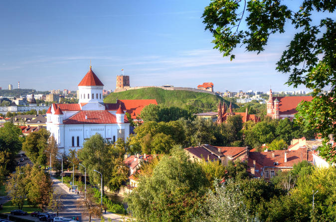 Panoramic Vilnius Walking Tour of the Republic of Uzupis