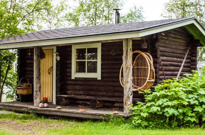 Private wood fired sauna experience from rovaniemi in rovaniemi 240068