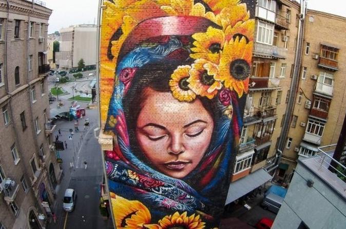 Kiev Murals Tour with Private Guide Ukraine, Europe