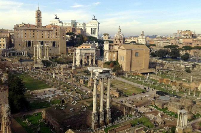 private family tour of Colosseum Roman Forum and Palatine hill