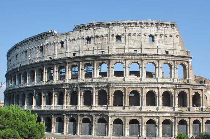 Ancient Rome and Colosseum Private Tour with Underground Chambers Arena and Upper Tier