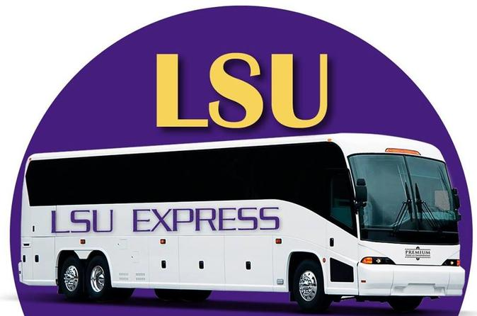 Round-trip Transportation to Tiger Stadium for LSU vs Alabama