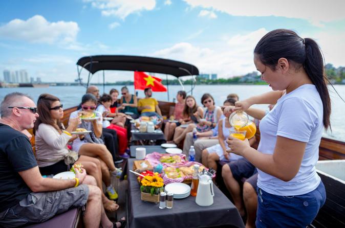 Saigon river breakfast cruise in ho chi minh city in ho chi minh city 241963