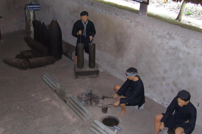 Half-Day Small-Group Cu Chi Tunnels Tour from Ho Chi Minh City