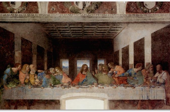 Da Vinci's Last Supper (Il Cenacolo)