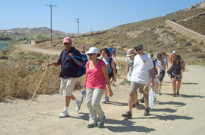Hiking adventure in mykonos in mikonos 219131