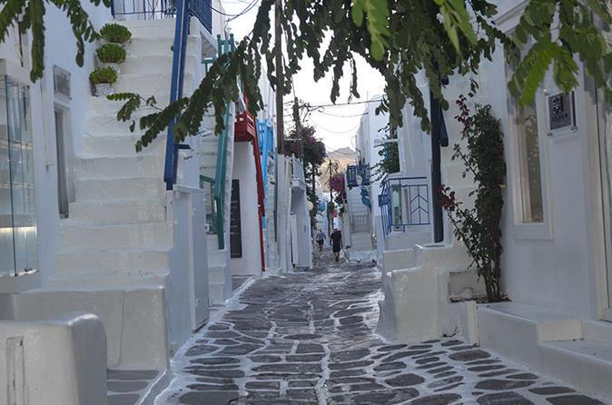Walking tour in mykonos town in m konos 243125