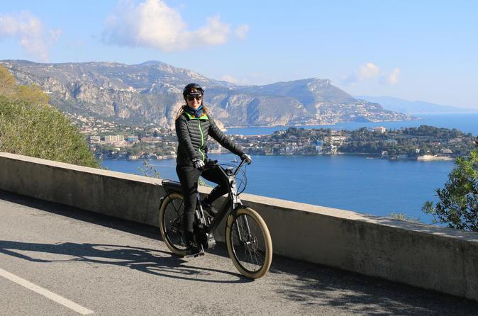 Enjoy Breathtaking Views And Visit EZE Medieval Village By Electric Bike - Nice