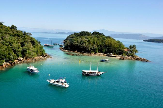 Excursão em Angra dos Reis e Ilha Grande, saindo do Rio, incluindo almoço e viagem de barco panorâmica