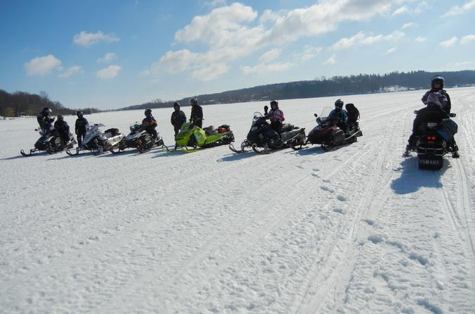 Georgian Bay Winter Snowmobile Tour