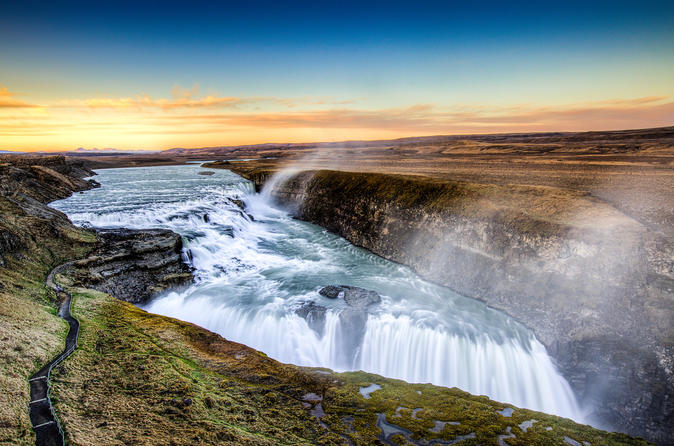 Golden Circle Afternoon Tour by Minibus