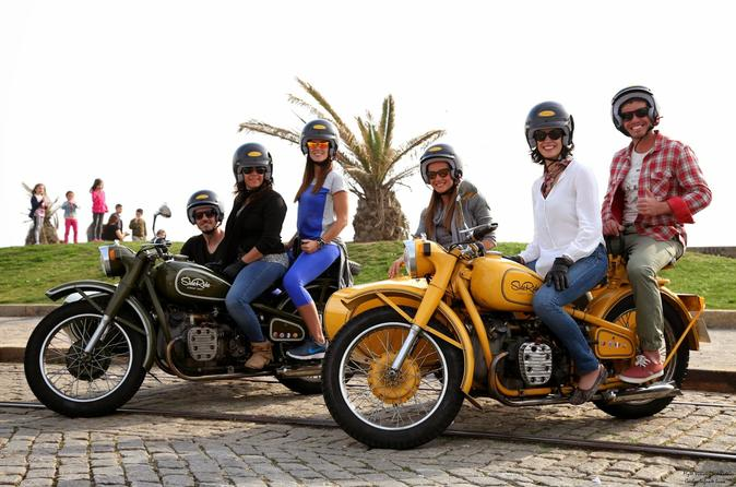Historical tour of porto by sidecar in porto 223572