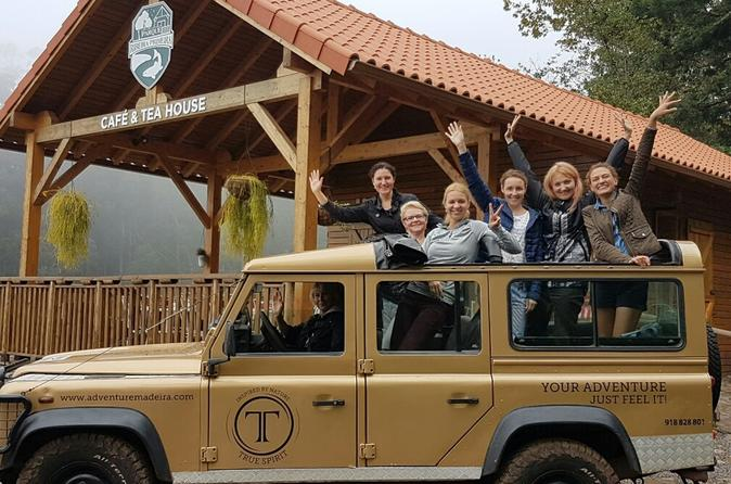 Private Maderia Full Day Jeep Tour East Or West