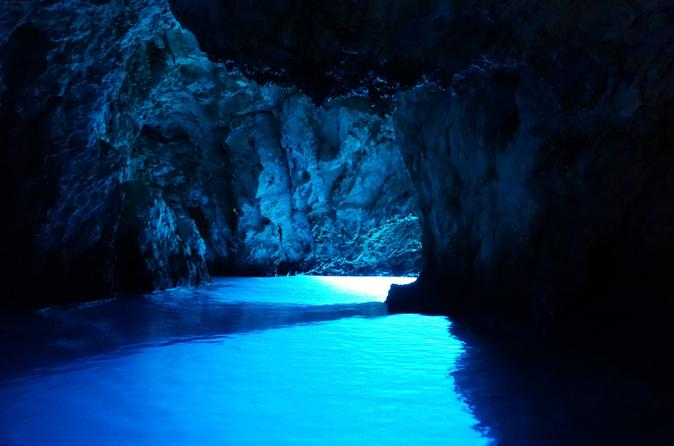 Blue cave and hvar island 5 islands tour with speed boat from split in trogir 425123