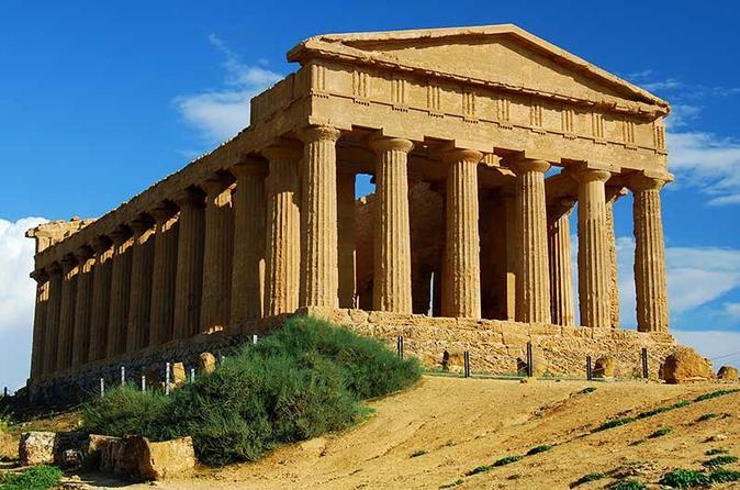 Viagem diurna por Agrigento e o Vale dos Templos partindo de Palermo