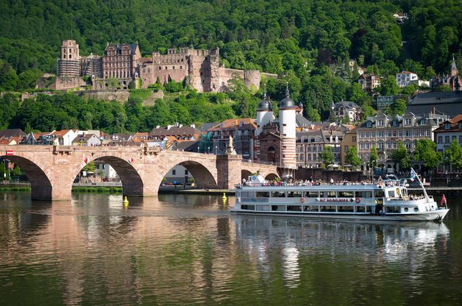 Romântica de 2 dias Noturna de Heidelberg, incluindo o pacote de cartão de Heidelberg