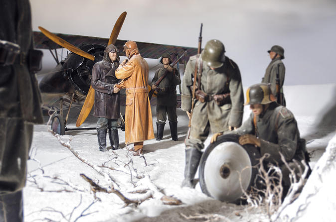 Special Combo WW1 & WW2 Exhibitions at the Omaka Aviation Heritage Centre