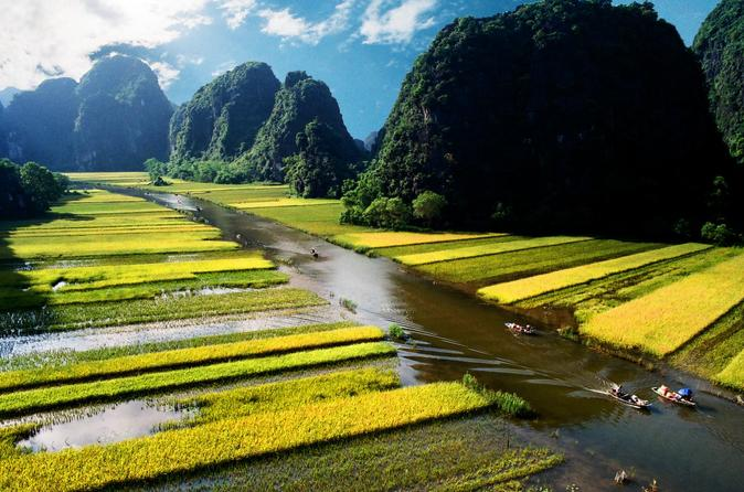 Ninhbinh One Day Excursion - Small Group(Tam Coc, Cycling, Hoa Lu, Local Family) - Hanoi