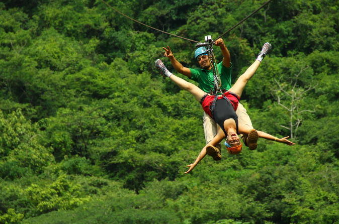 Canopy River Zipline Tour and Mule Ride