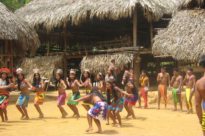 Day Trip to the Embera Drua Village