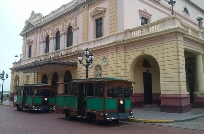 Panama City Tour in a Traditional Local Trolley