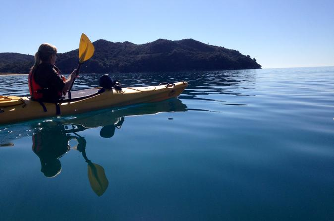 Full day abel tasman relaxed or late riser kayaking in nelson 245222