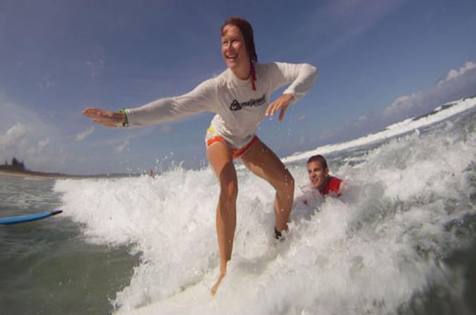 Byron bay half day surf lesson in byron bay 325591