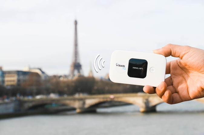 Mobile Wifi Everywhere in Paris