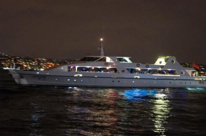 Bosphorus Dinner Cruise Including Transport