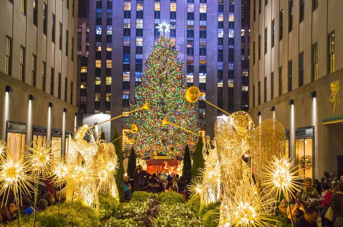 Albero Di Natale New York.Cerimonia Dell Accensione Dell Albero Di Natale Al Rockefeller