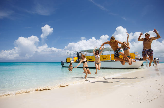 Full Day Cruise from Providenciales with Snorkeling and BBQ Lunch