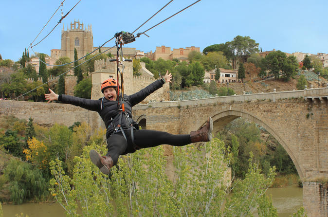 Toledo City Tour and Zipline from Madrid