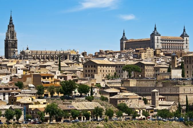 Toledo sightseeing tour with tourist train in toledo 238002