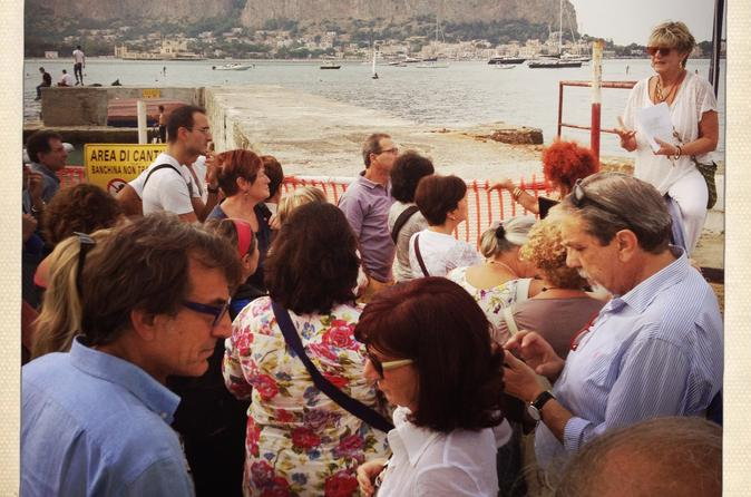 Mondello walking tour and home dinner in palermo 244604