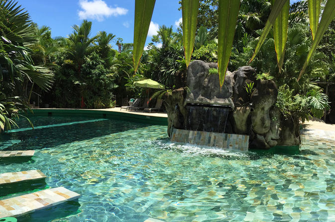 Relaxing Mineral Hot Springs Full Day Pass with Optional Lunch or Dinner