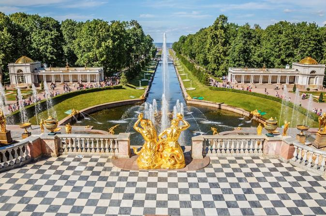 Peterhof Palace and Park Private Tour with Boat Ride