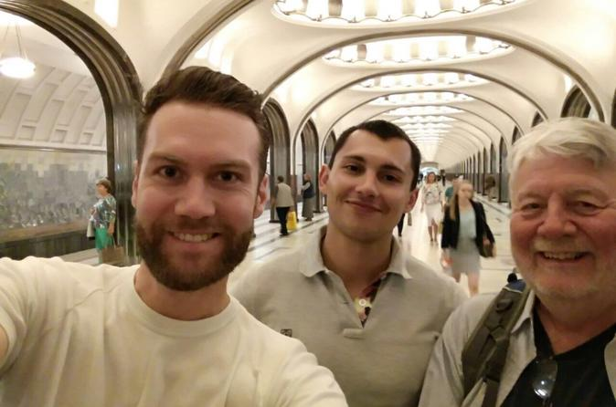 Private Tour of the Moscow Metro