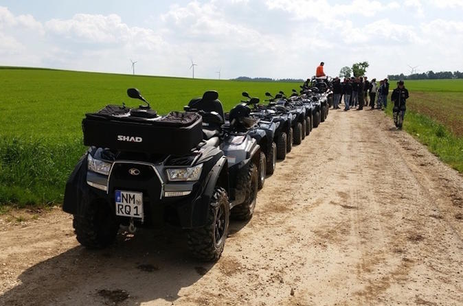 Offroad ATV Tour in Velburg