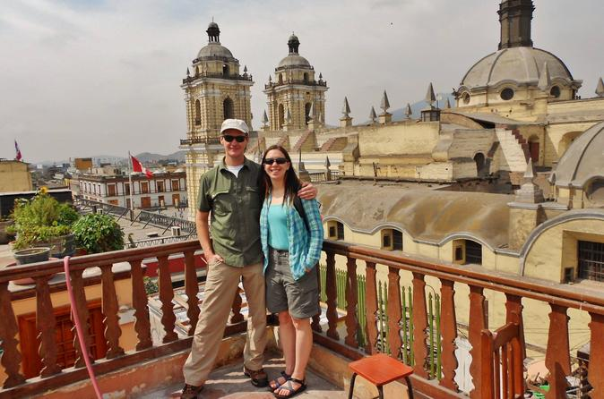 Lima Full-Day Combo Tour: City Tour and Cooking Class with Market tour and Pisco Sour Tasting