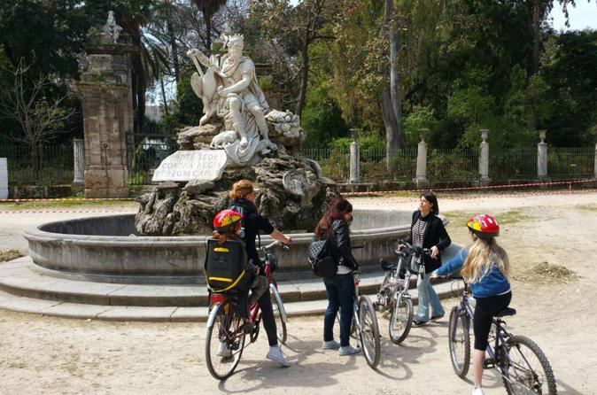 Old city and downtown palermo bike tour in palermo 260160