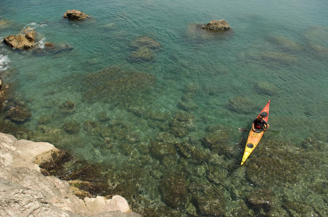3 hour of sea kayak trip in the creeks of sete in s te 224192