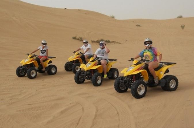 Dubai Dune Buggy Safari with ATV Experience in United Arab