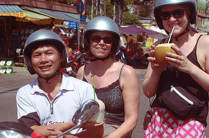 Ho Chi Minh City Half Day Saigon Morning Tour by Scooters in Vietnam Asia