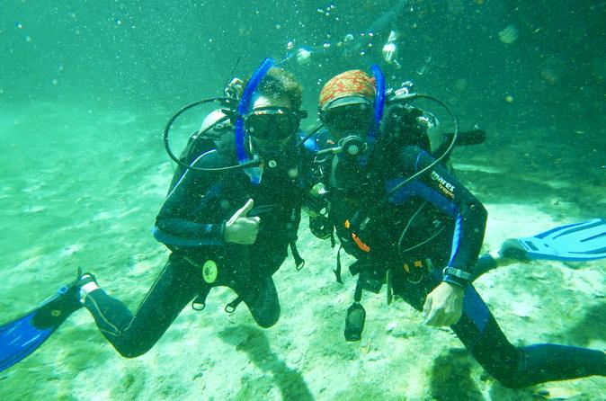 Discover scuba in cenote and ocean dive in tulum 279666
